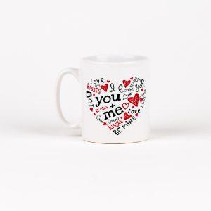 Standard 10oz Love Mug (Heart Mug)