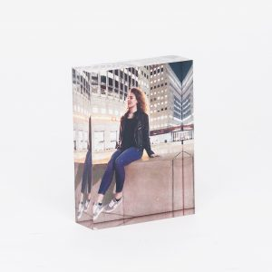 Acrylic Photo Glass Block (4 x 3″) Print